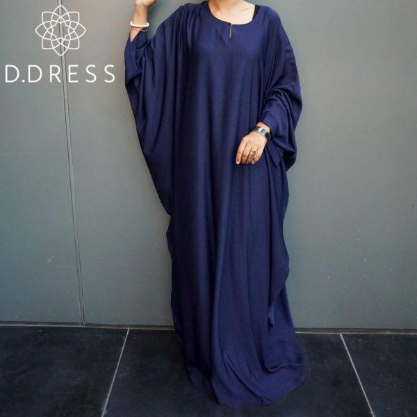 faracha bleu nidha nidah dubai abaya ddress