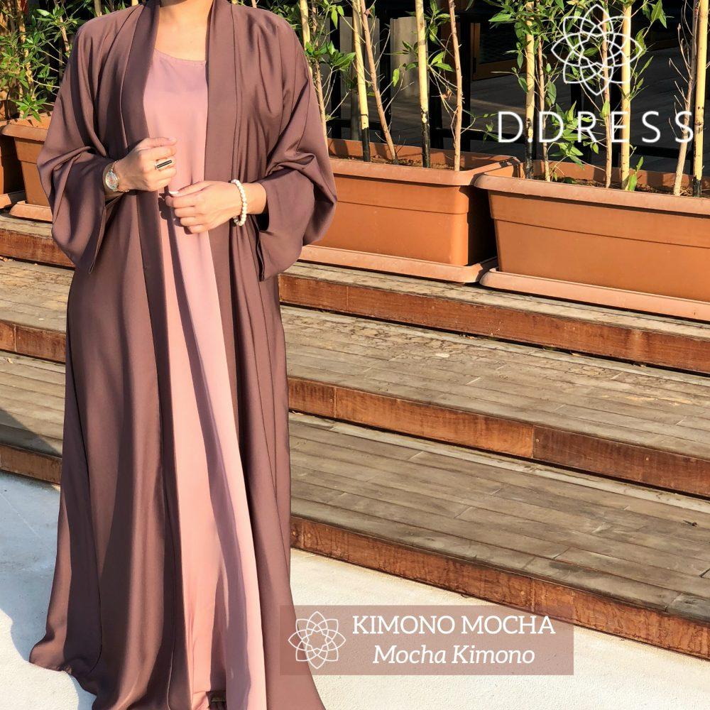 kimono mocha dubai abaya ddress anya nidah nidah