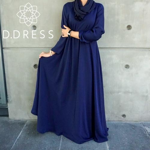 umbrella bleu flare dubai islamique nidha nidah modest