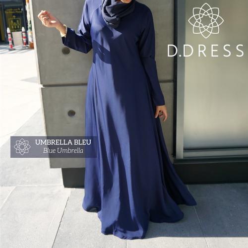 umbrella bleu flared abaya dubai nidha nidha islamic modest