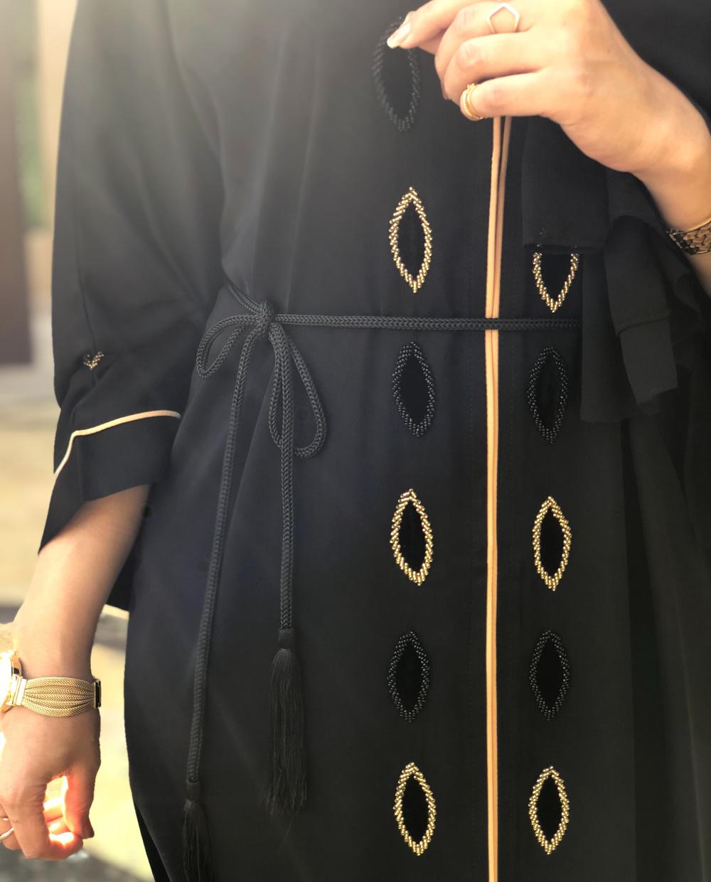 velvet touch abaya details