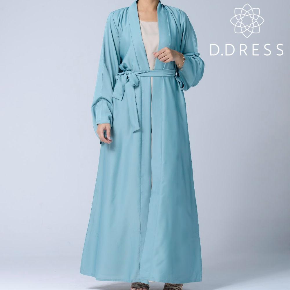 abaya celadon kimono ceinture ddress nidah nidha dubai