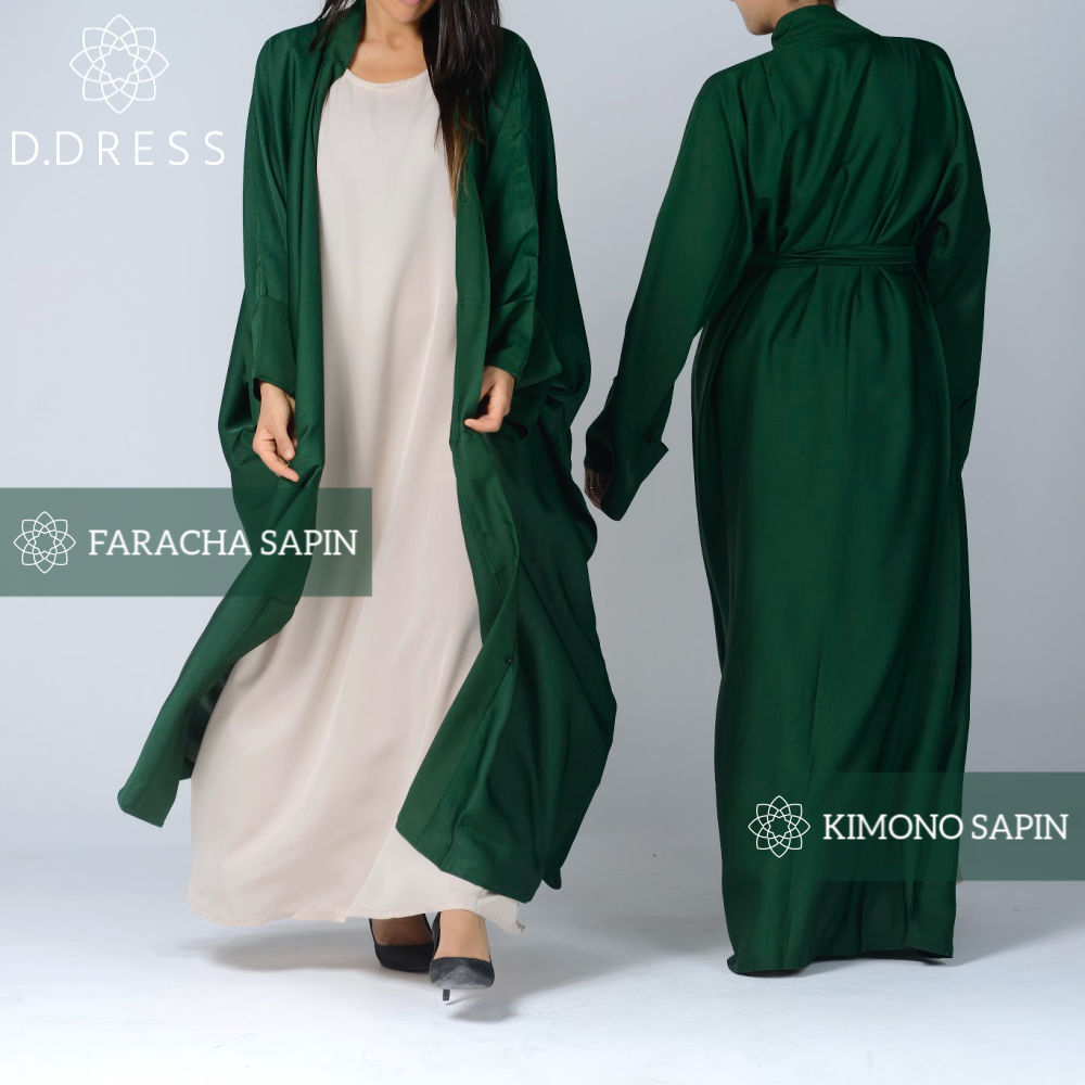 collection vert abaya ddress dubai nidah modest -2