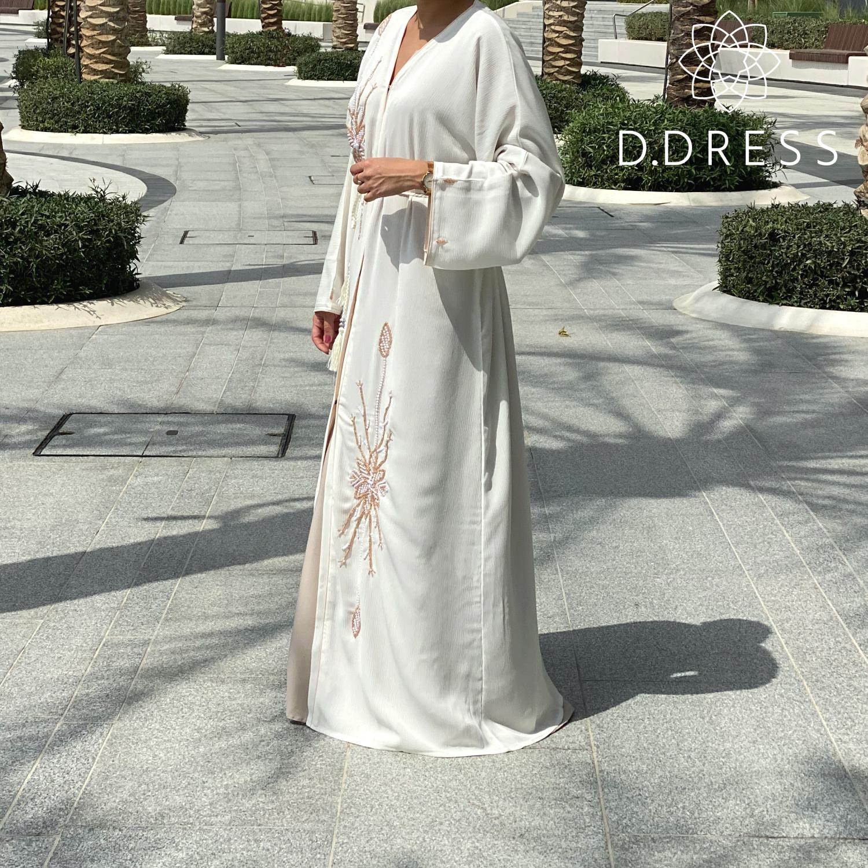 abaya scarlett perles ddress dubai zoom