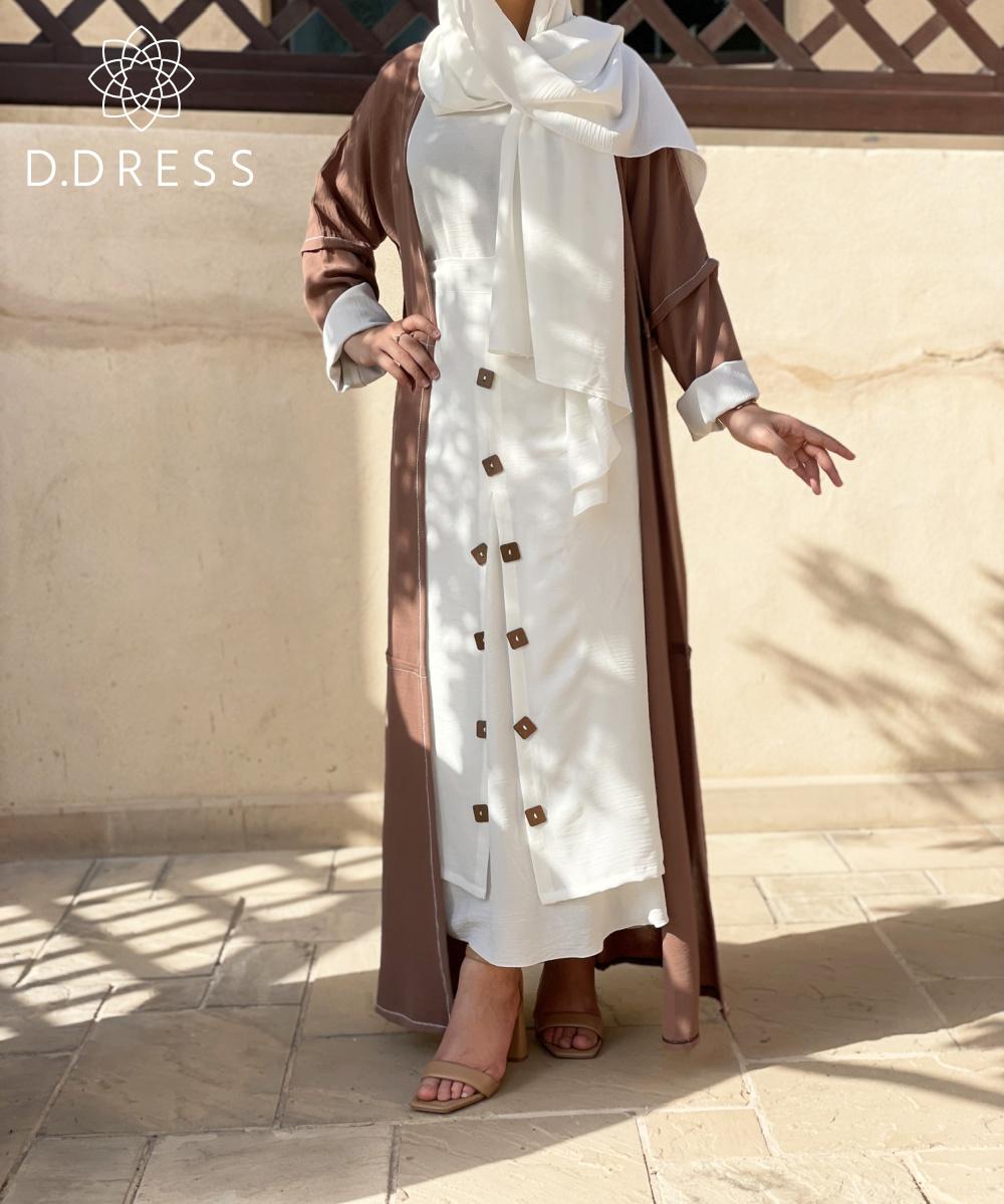 abaya ddress dubai 4 set cy camel-2