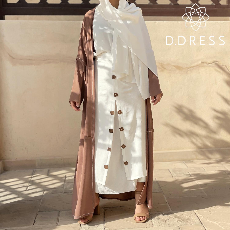 abaya nami cy ddress dubai abaya tablier-2